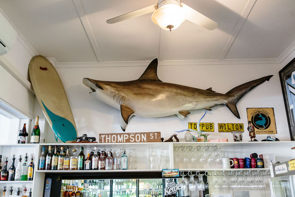 The Friendly Inn bar