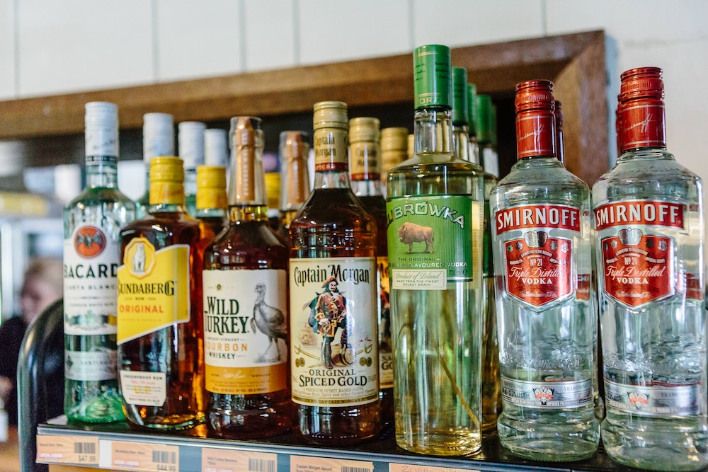 Rum Bourbon Whiskey, Vodka and other spirits at The Friendly Inn bottle shop