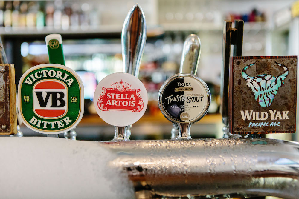 More beers on tap at The Friendly Inn Bar